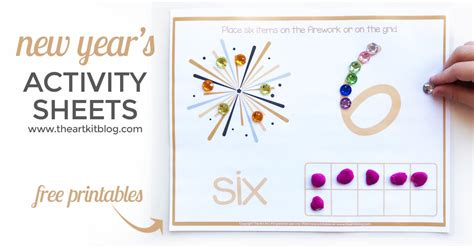 new year number activities new year s free printable activity sheets number practice