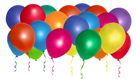 colorful balloons colourful balloons transparent png stickpng