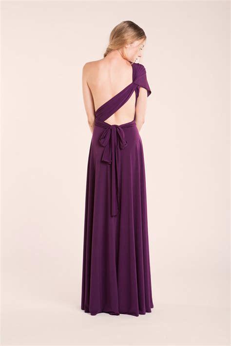 purple party dress philippines purple party dress aubergine infinity dress event dress