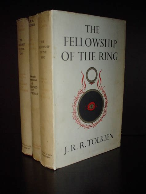 the ring books the lord of the rings by j r r tolkien