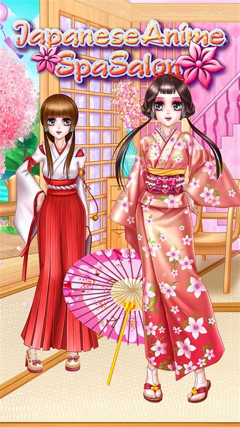hairdresser games japanese japanese anime spa salon amazon com br amazon appstore