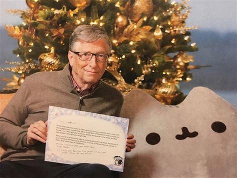reddit holiday gift one reddit user got bill gates as secret santa and here s what she received bored panda