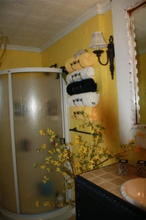 black and yellow bathroom bathroom ideas