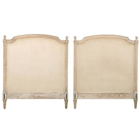 french style headboards sale pair of french louis xvi style twin bed striped wood