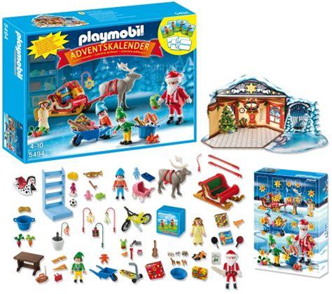 Calendrier De L Avent Playmobil Pere Noel Calendrier De L Avent Playmobil Atelier De Jouets Avec