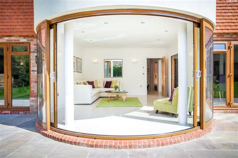 Curved Patio Doors Curved Glass Patio Doors Balcony Systems