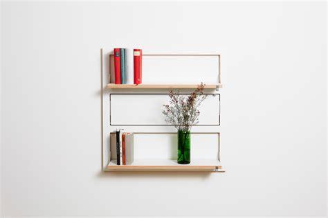 customizable wall mounted shelving from ambivalenz
