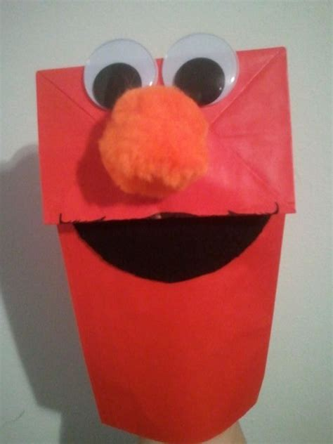 Puppet With Paper Bag - paper bag puppets black felt and paper bags on