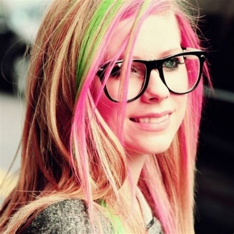 emo hairstyles with glasses 95 best lavigne images on pinterest celebrities celebs