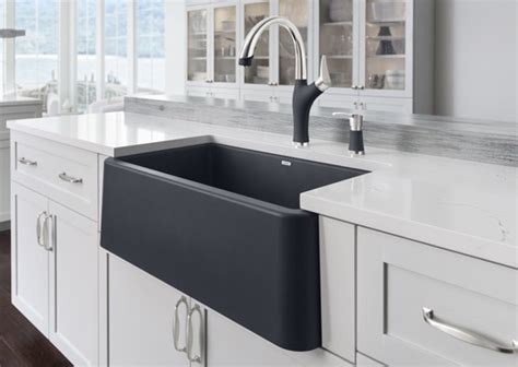 blanco farmhouse sink 33 blanco ikon apron front single bowl kitchen sink blanco