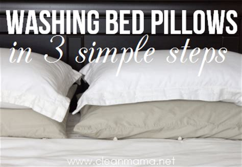 Can You Wash A Feather Pillow In The Washer by Washing Bed Pillows In 3 Simple Steps A Bowl Of Lemons