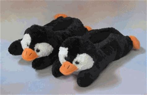 penguin slippers for adults penguin slippers with