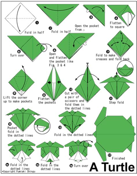 How To Make A Turtle Out Of Paper - bildresurser hem