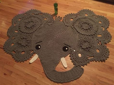 Josefina And Jeffery Elephant Rug Crochet Pattern Html by 283 Best Images About Made By You On Monkey