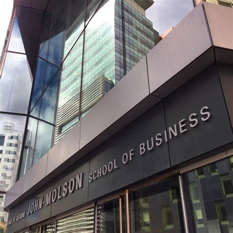 Molson School Of Business Mba by Molson School Of Business