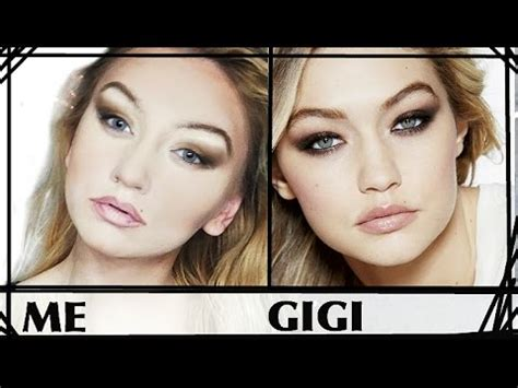 gigi hadid makeup tutorial gigi hadid makeup tutorial or how to trick zayn youtube