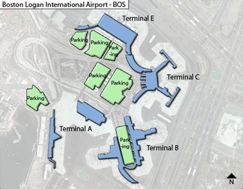 boston logan airport map bos boston logan airport terminal maps