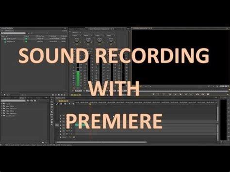adobe premiere pro record audio videos uploaded by user gamingelitehd zdravv ru