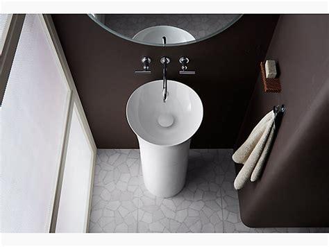 veil pedestal bathroom sink kohler
