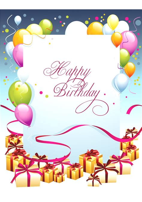 trec birthday card template birthday card layout mughals