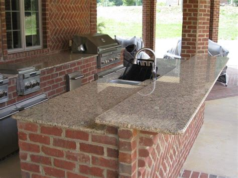 brick outdoor kitchen outdoor brick kitchen artisan interiors and builders