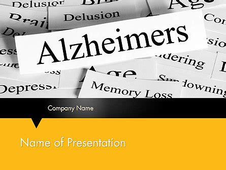 Alzheimer S Disease Powerpoint Template Backgrounds 11744 Poweredtemplate Com Free Alzheimer Powerpoint Template