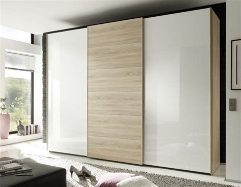 Nolte Wardrobes by Buy Nolte Attraction Wood And Glass Sliding Wardrobe