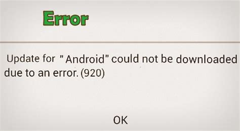 Play Store Error 920 Play Store Error 920 Code In Android How To Fix