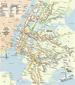 Metro Map New York by Traveler S Nest June 2012