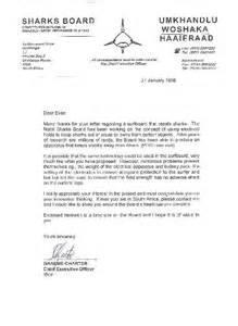 Business Letter Format South Africa Business Letter Template South Africa Sle Business Letter