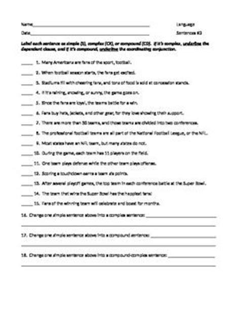 sentence pattern online quiz free worksheets 187 basic sentence pattern worksheets with