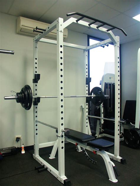 Power Rack And Olympic Weight Set by Power Squat Rack Cage 100kg Olympic Weight Set Adjustable