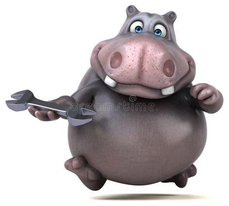 hippo stock illustratie illustratie bestaande uit nave