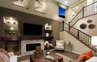 Modern Living Room Ideas by Contemporary Living Room With Hardwood Floors Amp Carpet