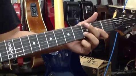 tutorial bermain gitar metal belajar bermain metal bersama gitaris edane youtube