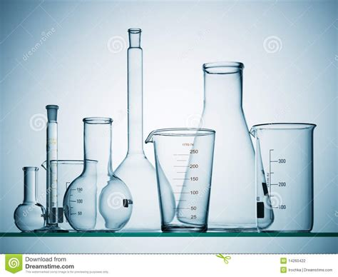 Green Architecture House Plans by Empty Science Beakers Stock Photography Image 14260422
