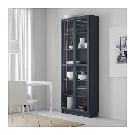 billy bookcase doors hack billy bookcase with glass door dark blue ikea for