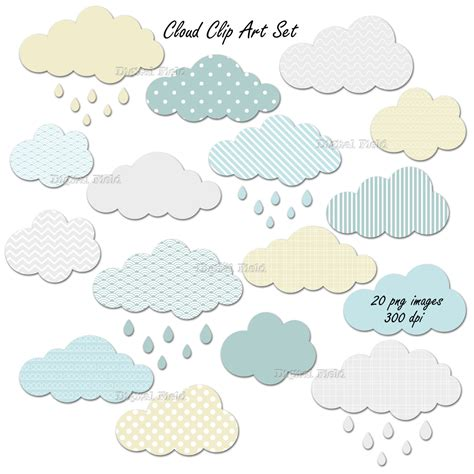 Cloud Store clouds clipart printable pencil and in color clouds