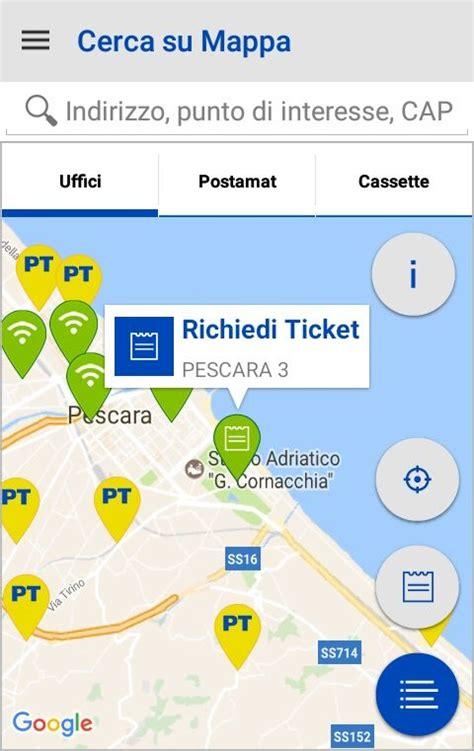 ufficio postale montesilvano spiaggia il turno alle poste si prenota attraverso l app