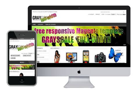 18 free and premium technology magento themes and