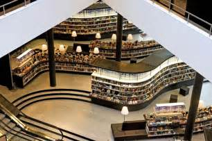 Set Of Armchairs Library Or Bookstore New Netherlands Branch Blurs The