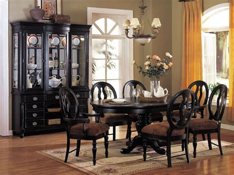 2018 black dining room furniture ideal for stylish dining