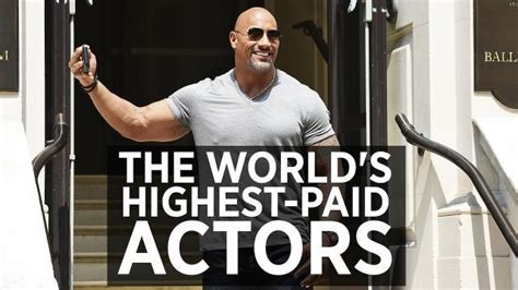 the world s highest paid actors of 2016