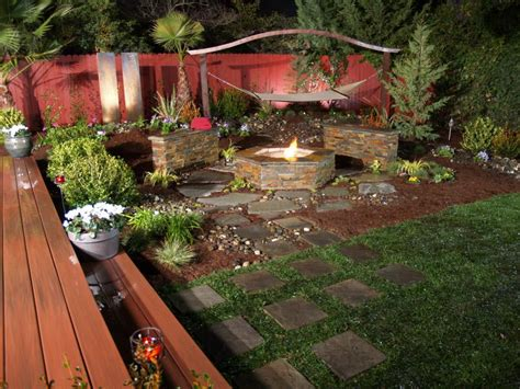 Backyard With Firepit How To Build Diy Outdoor Pit Pit Design Ideas