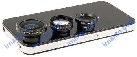 Lensa Hp Macro jual lensa hp portabel universal 4 fungsi 1 paket murah telephoto fisheye wide macro
