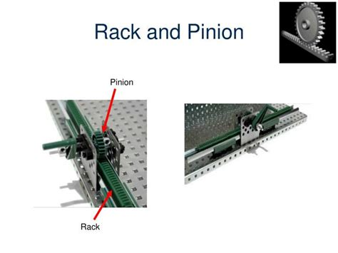 Rack And Pinion Exles by Ppt Simple Gear Powerpoint Presentation Id 2619301
