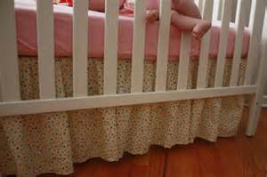 Crib Bed Skirt Pattern The One With The Cupcakes The One With The Crib Skirt Tutorial