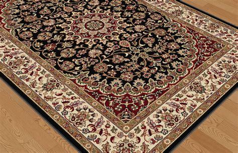 tayse area rugs elegance rugs 5393 black