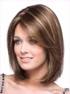 haircuts to flatter faces cute medium haircuts for thick hair teens latest fashion