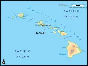usa map hawaii geographical map of hawaii and hawaii geographical maps